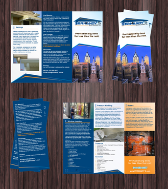 Tri Fold 8.5 x 11 Brochures Marketing collateral  Draft # 14 by Achiver