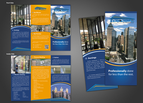 Tri Fold 8.5 x 11 Brochures Marketing collateral  Draft # 15 by unresolve