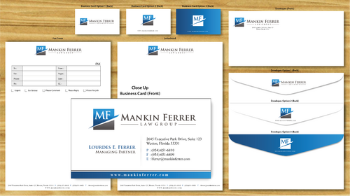 Letterhead, Business Card Design, Email signature, Email Letterhead template, fax cover sheet, memo
