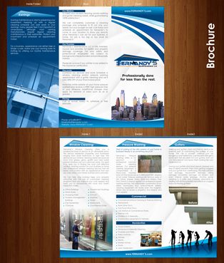Tri Fold 8.5 x 11 Brochures Marketing collateral  Draft # 21 by XtremeCreative2