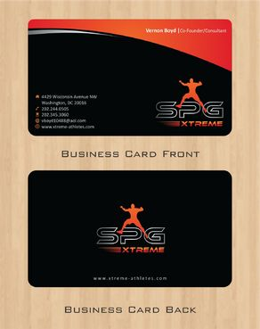 Business Cards Business Cards and Stationery  Draft # 160 by Deck86
