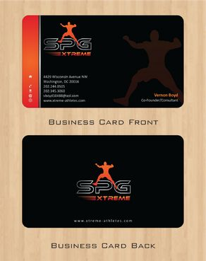 Business Cards Business Cards and Stationery  Draft # 163 by Deck86