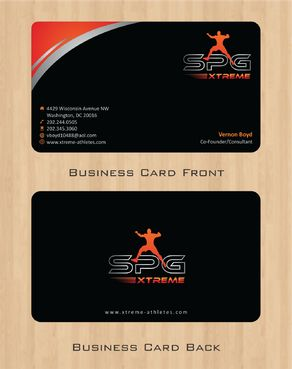 Business Cards Business Cards and Stationery  Draft # 165 by Deck86