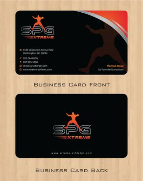 Business Cards Business Cards and Stationery  Draft # 166 by Deck86