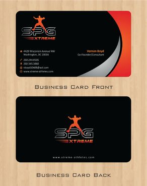 Business Cards Business Cards and Stationery  Draft # 168 by Deck86
