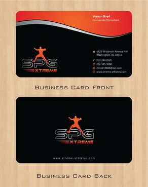 Business Cards Business Cards and Stationery  Draft # 170 by Deck86