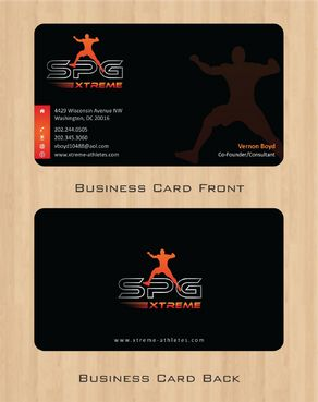 Business Cards Business Cards and Stationery  Draft # 172 by Deck86