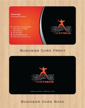 Business Cards Business Cards and Stationery  Draft # 174 by Deck86