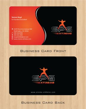 Business Cards Business Cards and Stationery  Draft # 175 by Deck86