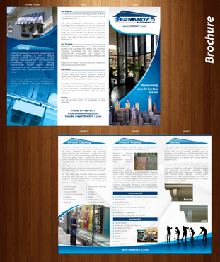 Tri Fold 8.5 x 11 Brochures Marketing collateral  Draft # 25 by XtremeCreative2