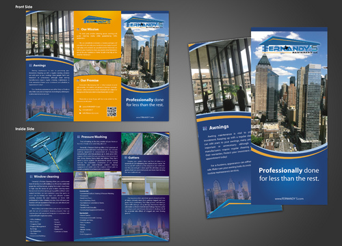 Tri Fold 8.5 x 11 Brochures Marketing collateral  Draft # 29 by unresolve