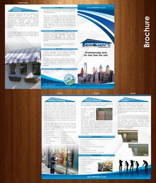 Tri Fold 8.5 x 11 Brochures Marketing collateral  Draft # 31 by XtremeCreative2