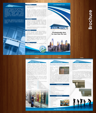 Tri Fold 8.5 x 11 Brochures Marketing collateral  Draft # 32 by XtremeCreative2