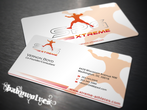 Business Cards Business Cards and Stationery  Draft # 200 by babywolves