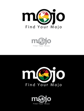 "mojo (with globe inside the first ""o"")"