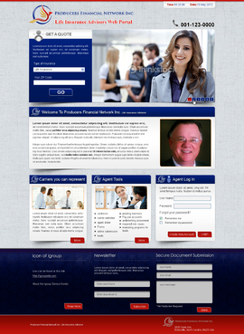 Life Insurance Advisors Web Portal