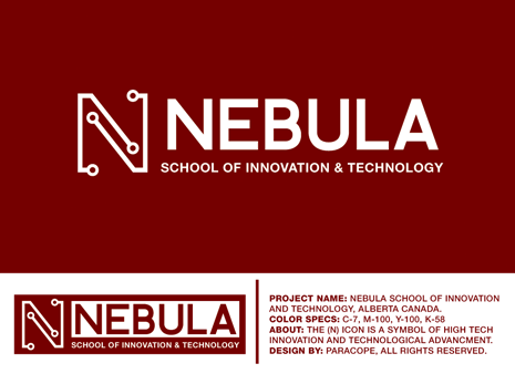 Nebula School of Innovation and Technology A Logo, Monogram, or Icon  Draft # 43 by Parascope
