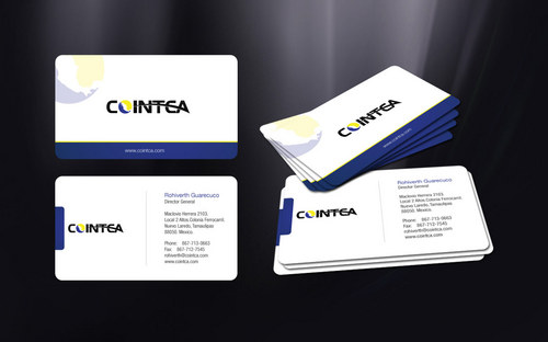 COINTCA BC Business Cards and Stationery  Draft # 132 by Creasian