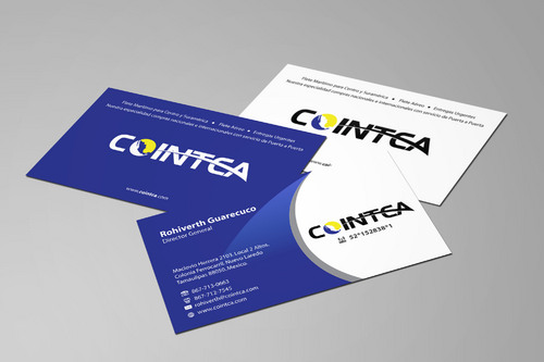 COINTCA BC Business Cards and Stationery  Draft # 138 by yoezer32