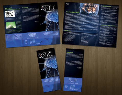 Trifold Brochure for Practitioners and Prospective Clients