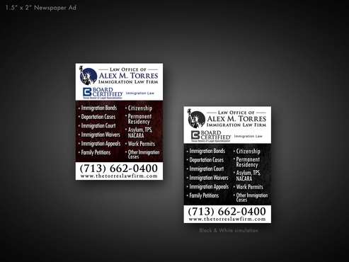Need Three Ads/Sizes Marketing collateral  Draft # 28 by blythestyl