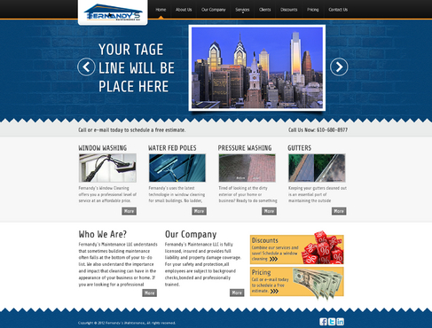 Tagline(Proffesionally done for less than the rest) Complete Web Design Solution  Draft # 11 by Faudzif