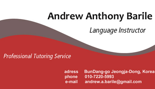 Professional English Tutoring Service