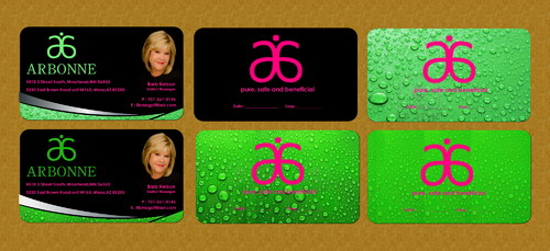 business card and invitation design