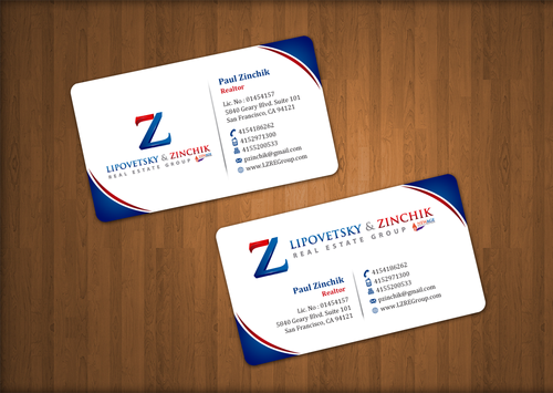 Lipovetsky & Zinchik Real Eastate Group cards and stationary  Business Cards and Stationery  Draft # 38 by einsanimation