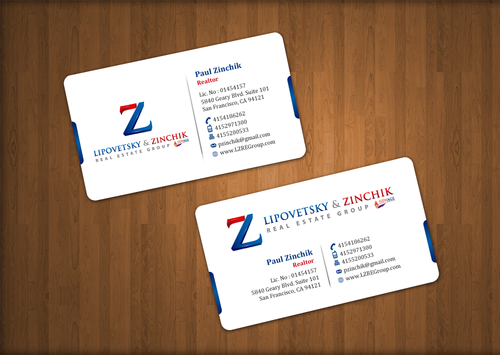 Lipovetsky & Zinchik Real Eastate Group cards and stationary  Business Cards and Stationery  Draft # 40 by einsanimation