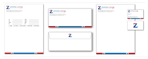 Lipovetsky & Zinchik Real Eastate Group cards and stationary  Business Cards and Stationery  Draft # 186 by cinco