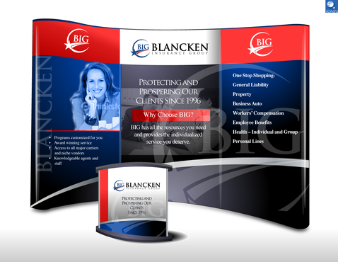 Trade Show Graphics Marketing collateral Winning Design by raindesign