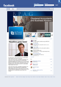 B.P.A.G. Chartered Accountants & Business Advisory Other  Draft # 1 by raindesign