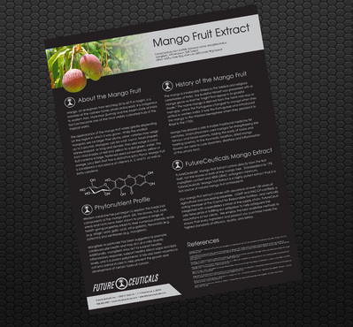 Mango Fruit Extract Sales Sheet