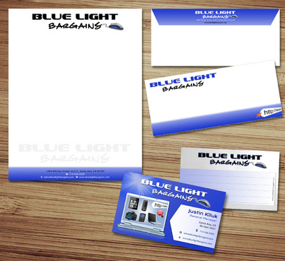 Business Card, Website Header, & Stationary
