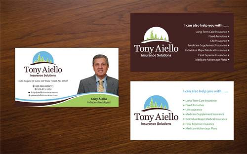 Tony Aiello biz card and stationary