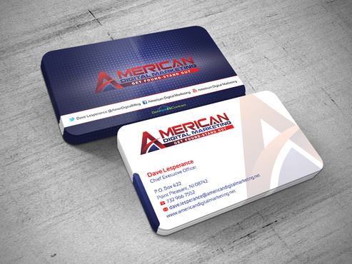 Business Card Design for an Internet Marketing Company