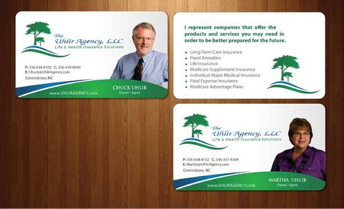 biz card and stationary
