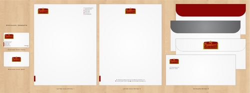 Stationary Business Cards and Stationery  Draft # 274 by Deck86