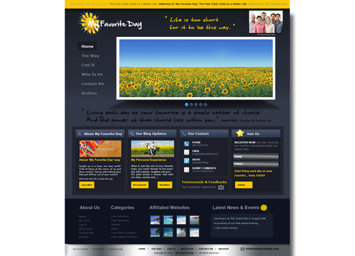 Website for Life Coach Web Design  Draft # 32 by shirly