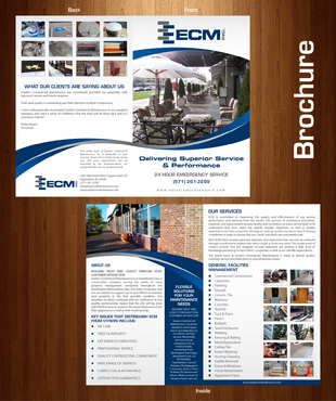 ECM Brochure Marketing collateral  Draft # 9 by XtremeCreative2