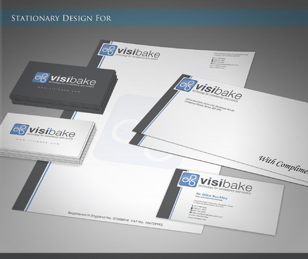 VisiBake  Business Cards and Stationery  Draft # 47 by sevensky