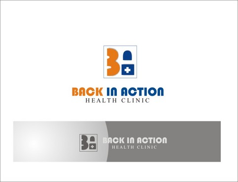 BACK IN ACTION HEALTH CLINIC A Logo, Monogram, or Icon  Draft # 151 by BombDesign