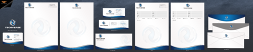 TechVerse Business Cards