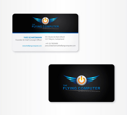 The Flying Computer Business Cards and Stationery  Draft # 106 by thanhsugar