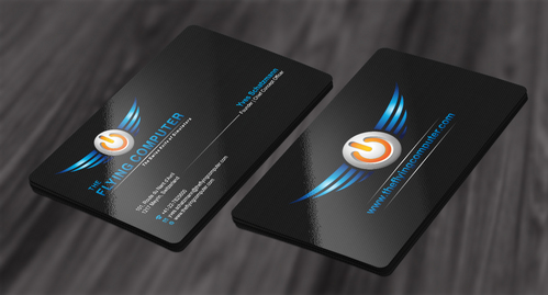 The Flying Computer Business Cards and Stationery  Draft # 210 by cArnn