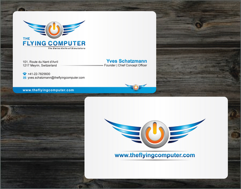 The Flying Computer Business Cards and Stationery  Draft # 220 by cArnn
