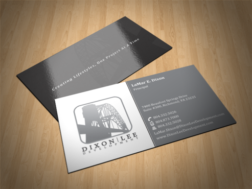 CREATING LIFESTYLES, ONE PROJECT AT A TIME Business Cards and Stationery  Draft # 50 by einsanimation