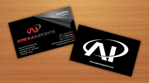 Brand new business cards and stationery