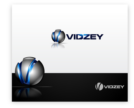 "VIDZEY, or just the letter ""V"" A Logo, Monogram, or Icon  Draft # 49 by iDesign"